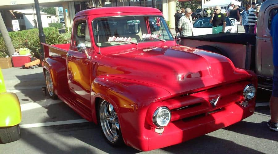 The F100 Debuts At Cars On 5th In Naples, Florida